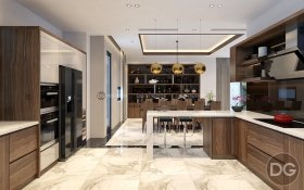 Thiết kế nội thất biệt thự hoàn hảo tại Vinhomes Thăng Long